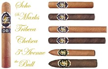 Cigars rolled by cigar roller